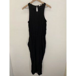 GAP Women's Sleeveless Dress Black Size Medium